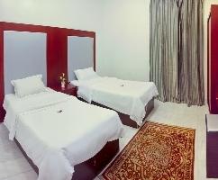 Two Rooms + One Hall + One Bathroom can book for best price per night in Al Farhan Hotel & Suits, Al Hamra District.